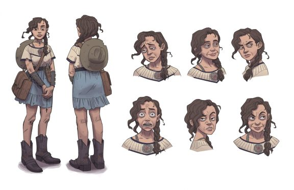 Front & Back View, Expressions