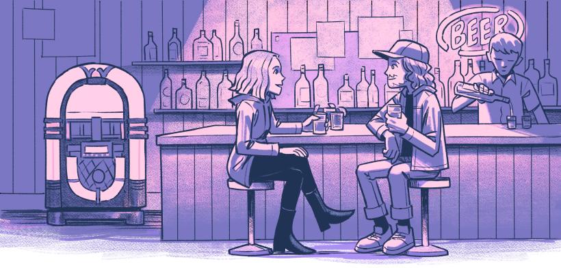Bar Scene